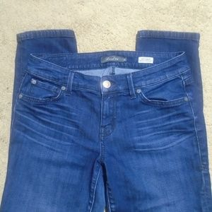 LEVEL 99 Lily Crop Straight Leg Jeans